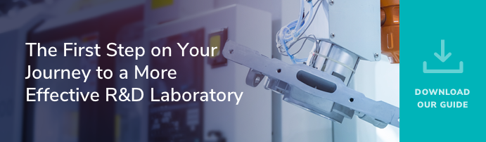 The First Step on Your journey to a More Effective R&D Laboratory