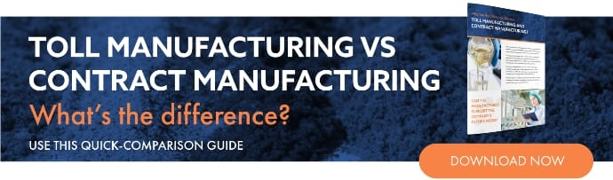 Toll Manufacturing vs Contract Manufacturing