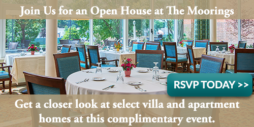 Join us for an open house at The Moorings