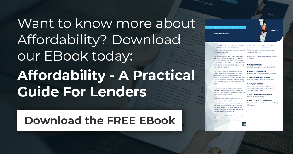 Download our FREE EBook, Affordability - A Practical Guide For Lenders
