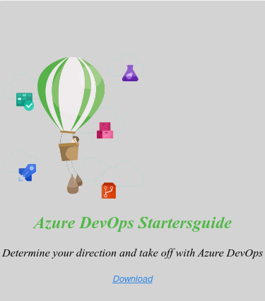 <>  Azure DevOps Startersguide  Determine your direction and take off with Azure DevOps    Download <https://www.intercept.nl/en/whitepapers/azure-devops-starters-guide/>