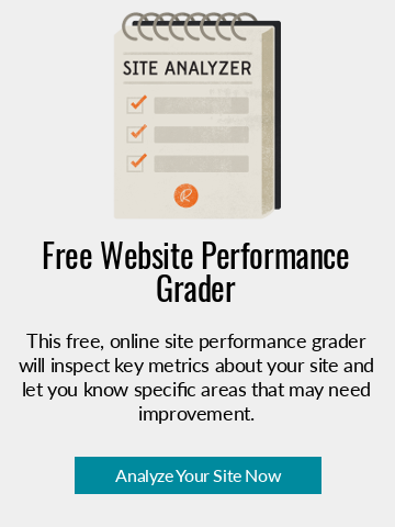 Access Now: This free, online site performance grader will inspect key metrics about your site and let you know specific areas that may need improvement.