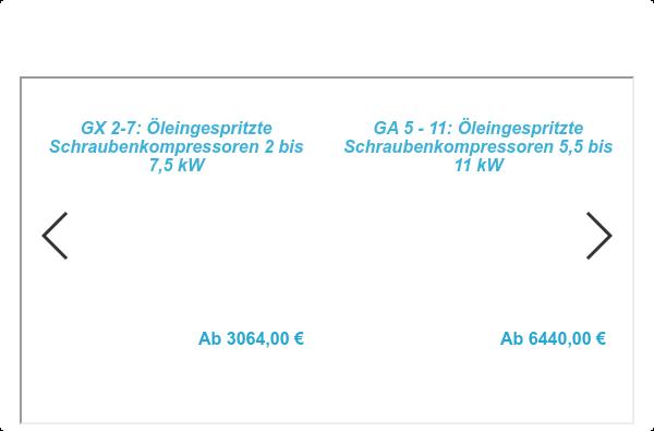 Kompressoren im Atlas Copco Webshop