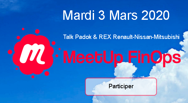 Participer au meetup FinOps le 3 Mars 2020