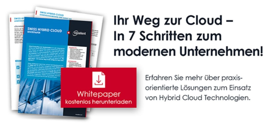 Download Whitepaper - Ihr Weg zur Cloud