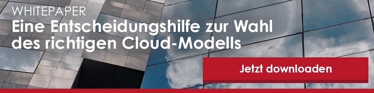 Zum Whitepaper Entscheidungshilfe Cloud-Modell