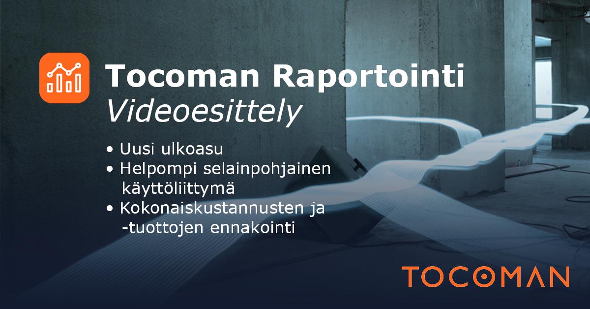 Rakennusalan raportointiohjelma