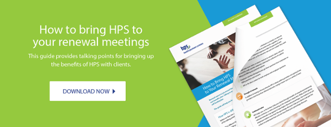 How to bring HPS to your renewal meetings
