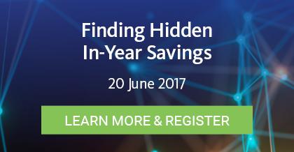 Finding Hidden In-Year Savings - Register Here