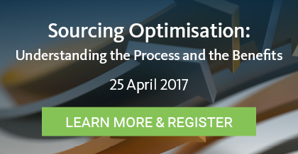 Sourcing Optimisation - Register Here