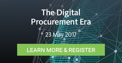 The Digital Procurement Era - Register Here