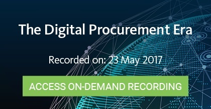 The Digital Procurement Era - Register Here