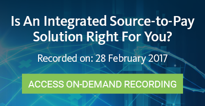 Integrated Source to Pay - Access On-Demand Recording