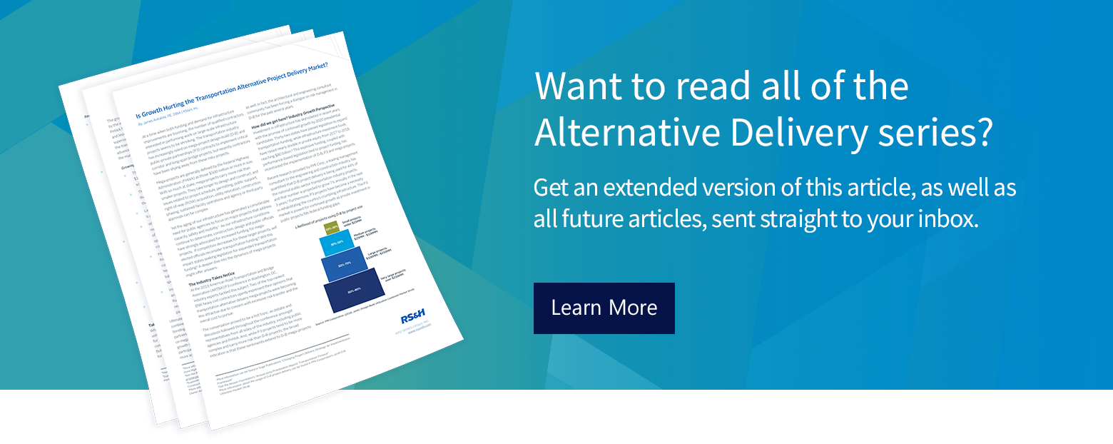 Alternative project delivery white paper series.