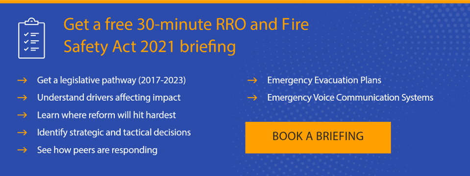 RRO & the Fire Safety Act 2021 briefing