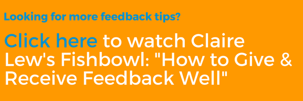 How to Give & Receive Feedback Well