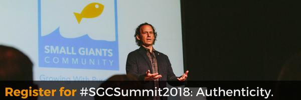 #SGCSummit2018: Authenticity