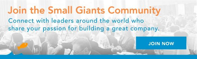 Register for the 2016 Small Giants Summit