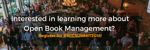 Small Giants Summit 2018 Open Book Management