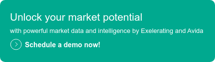 Unlock your market potential  with powerful market data and intelligence by Exelerating and Avida   Schedule a demo now!