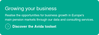 Growing your business  Realise the opportunities for business growth in Europe's main pension markets through our data and consulting services.  Discover the Avida toolset