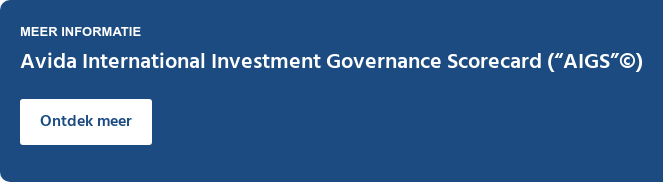 """Meer informatie  Avida International Investment Governance Scorecard (""""AIGS"""") Ontdek meer"""