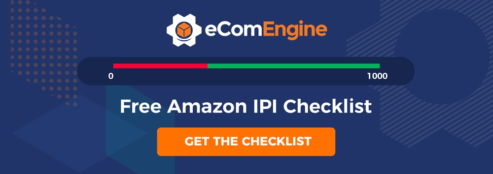 Free Amazon IPI checklist with download now button