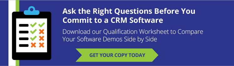 Ask the right questions before you commit to a CRM software solution
