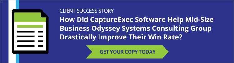 Odyssey Systems improved their win rate with captureexec software