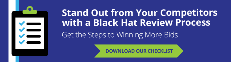 win more bids with a black hat review process