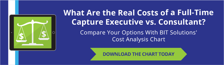 Real Costs of a Full-time Capture Executive vs Consultant?