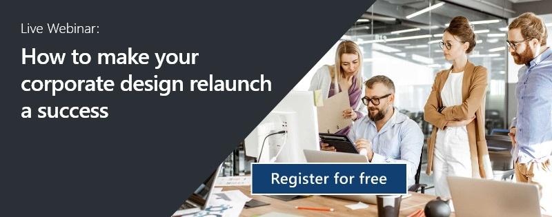 Webinar Corporate Design Relaunch