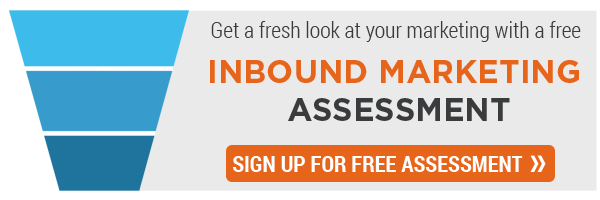 Sign Up for Inbound Marketing Assessment