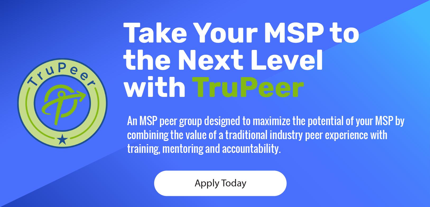 MSP peer group
