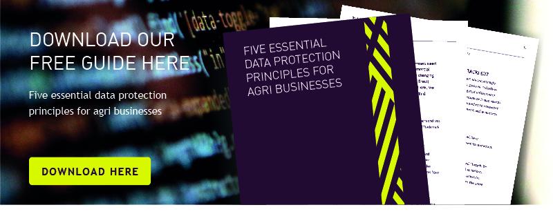 data protection principles