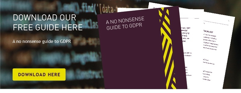 Guide to GDPR and data protection