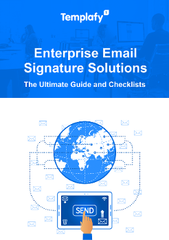 Enterprise email signature management