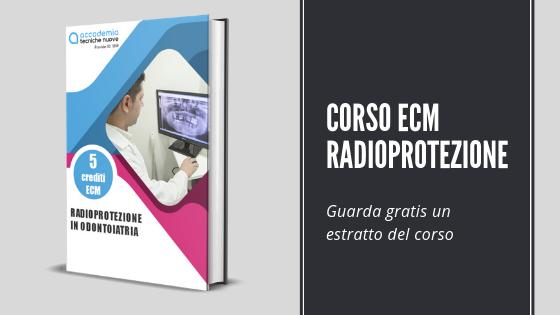 corso radioprotezione odontoiatria
