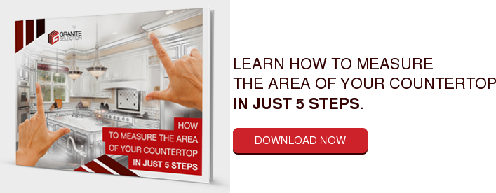 Learn How to Measure The Area of Your Countertop in Just 5 Steps. Download Now