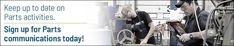 Schneider Parts Communication Sign Up