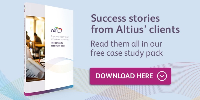 Download the Altius Supply Chain Case Study Pack