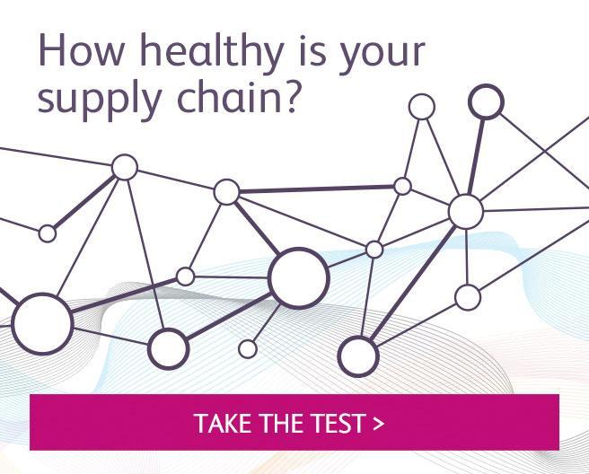 Take the supply Chain Health Check