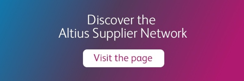 Discover the Altius Supplier Network