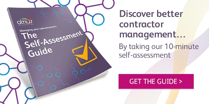 Download managing your subcontractors: the self-assessment guide