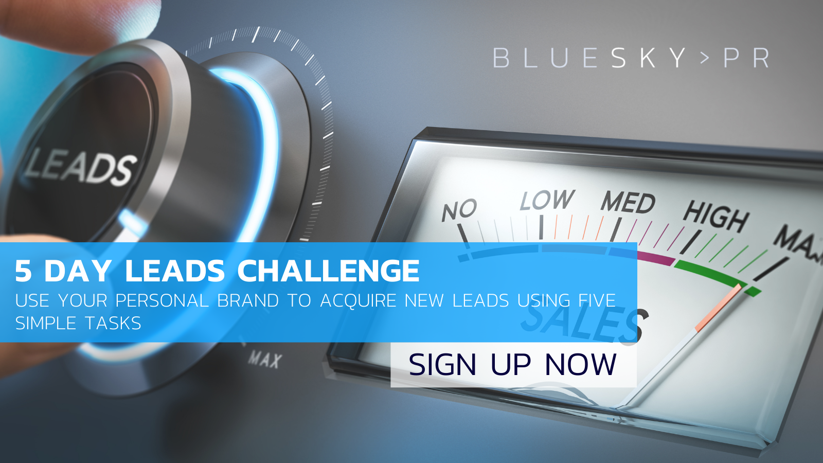 Sign up for our 5 day leads challenge
