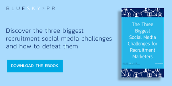 The three biggest social media challenges for recruitment marketers