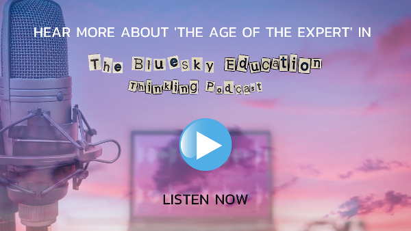 The age of the expert