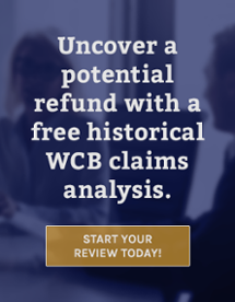 Historical WCB Cost Recovery Review