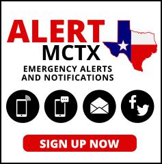 Alert MCTX sign up button