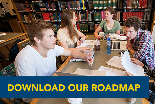 Download the SAU Roadmap to undergrad life